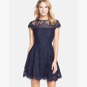 "BB Dakota ""Rhianna"" illusion yoke lace fit&flare"